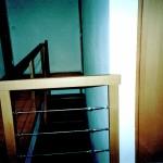 Escalier à l'anglaise - garde corps