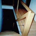 escalier à l'anglaise - descente d'escalier
