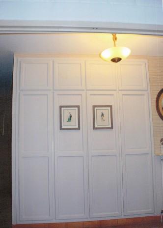 Placard intérieur hall d'entrée d'une maison particulière à Onnaing