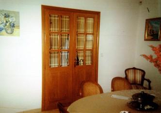 double porte intérieure